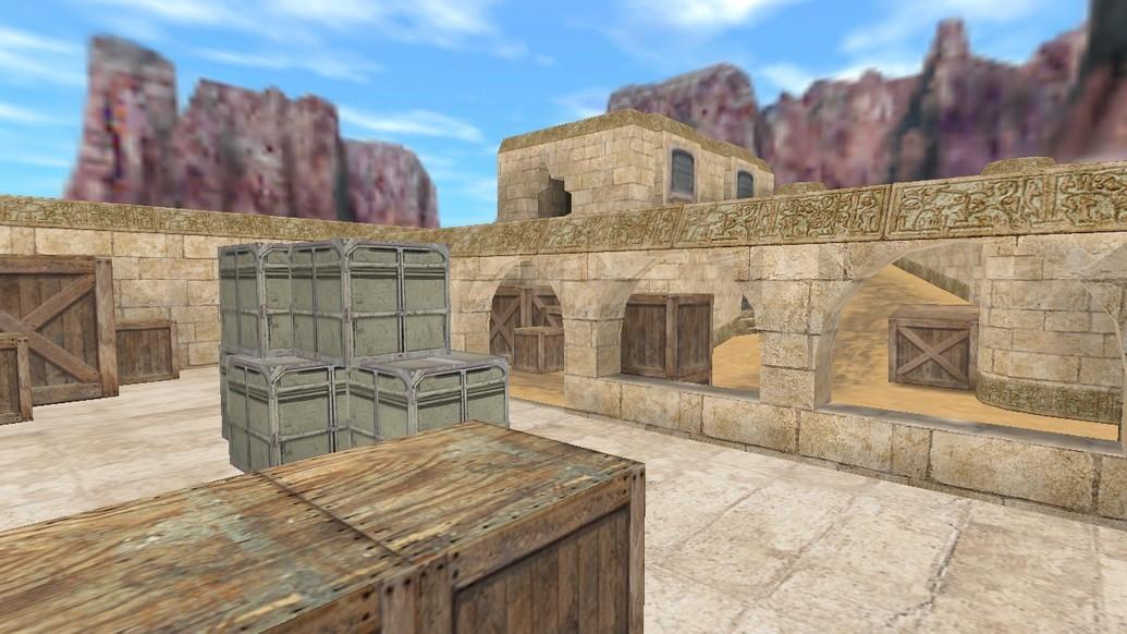«de_dustlands» для CS 1.6