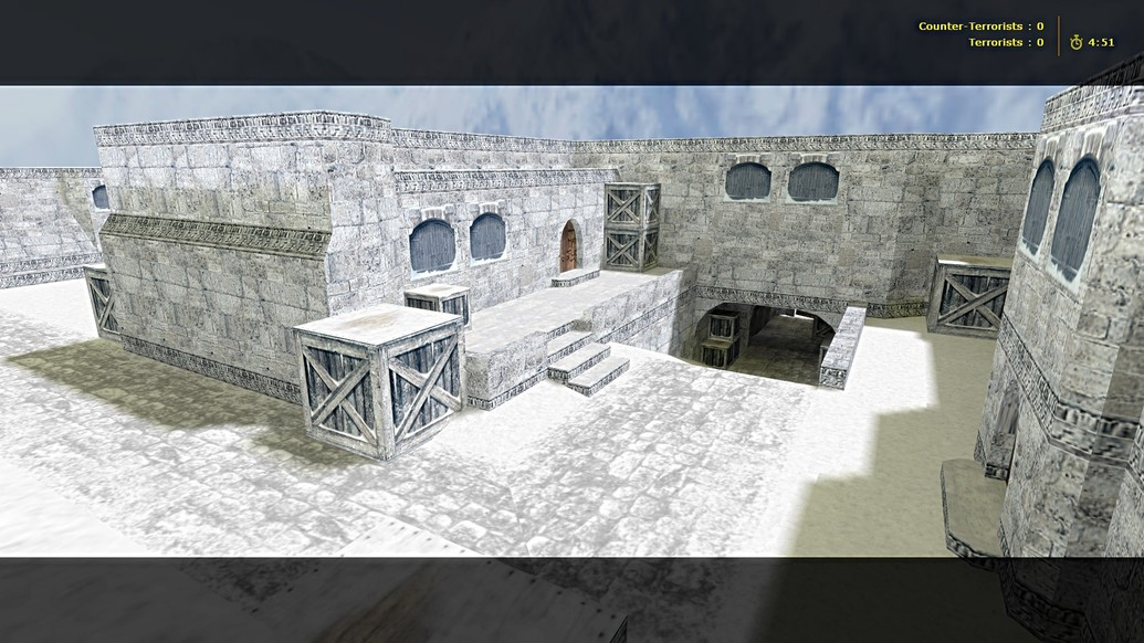 «de_dustlong_winter» для CS 1.6