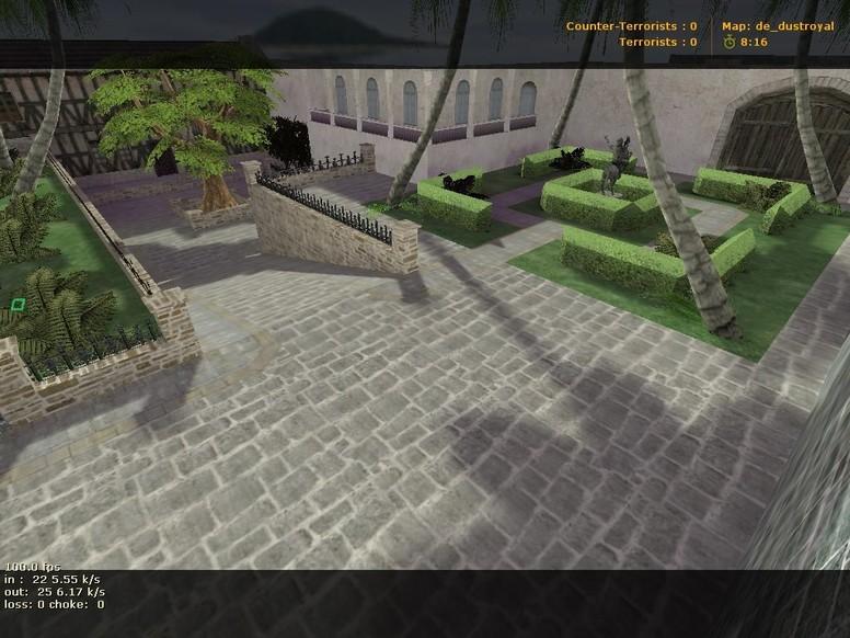 «de_dustroyal» для CS 1.6