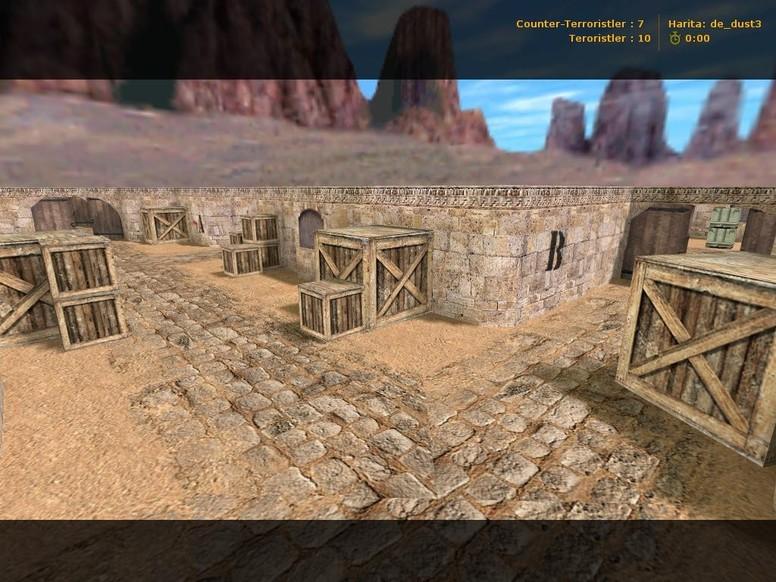 «de_dusty» для CS 1.6