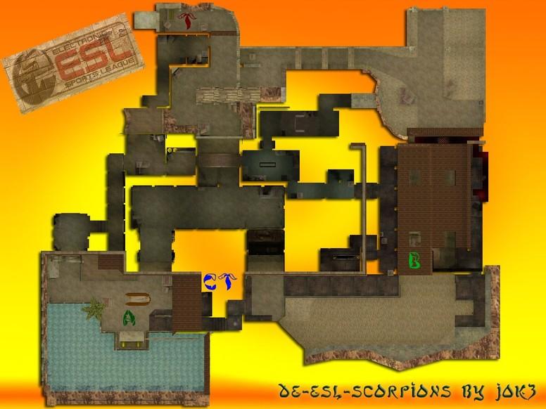 «de_esl_scorpions» для CS 1.6
