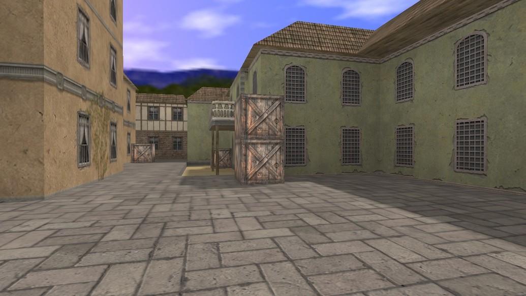«de_esl_village» для CS 1.6