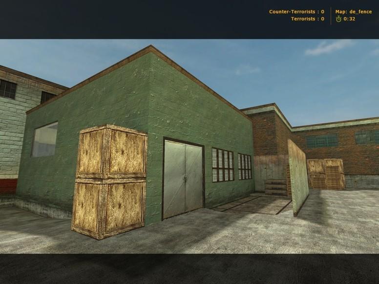 «de_fence» для CS 1.6