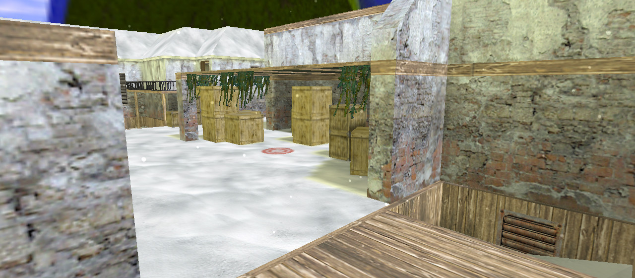 «de_inferno_winter» для CS 1.6