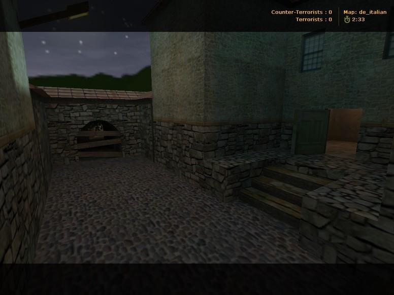 «de_italian» для CS 1.6