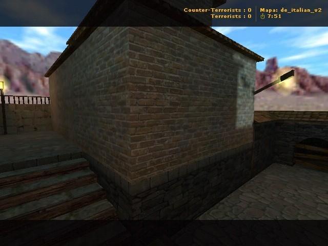«de_italian_v2» для CS 1.6
