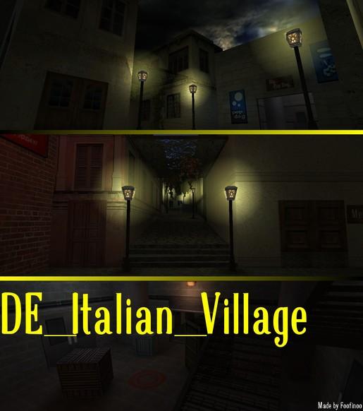 «de_italian_village» для CS 1.6