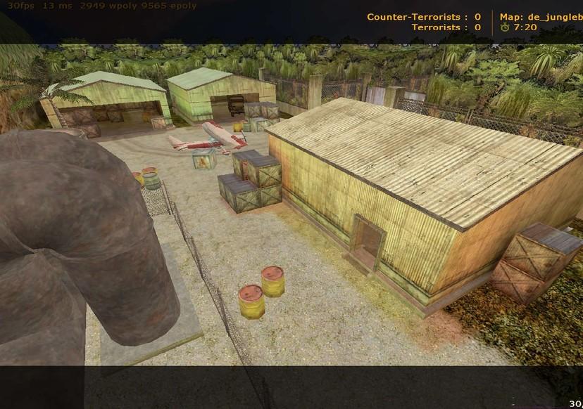 «de_junglebase» для CS 1.6