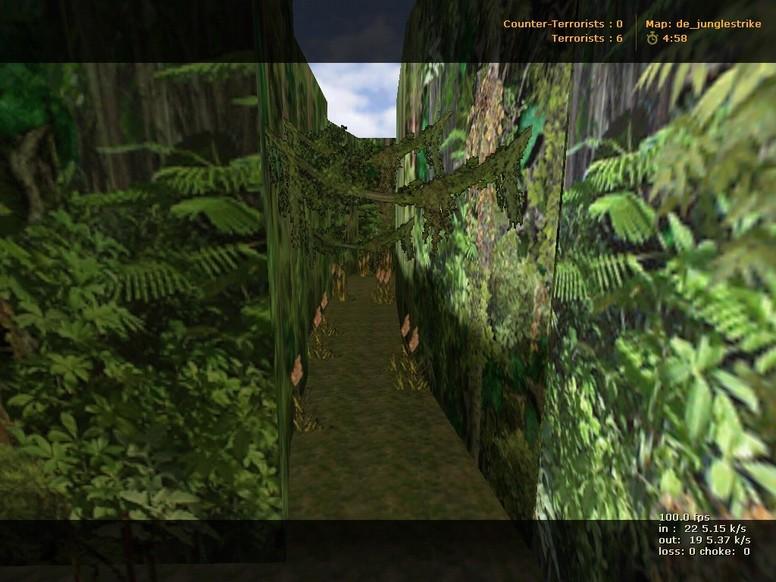 «de_junglestrike» для CS 1.6