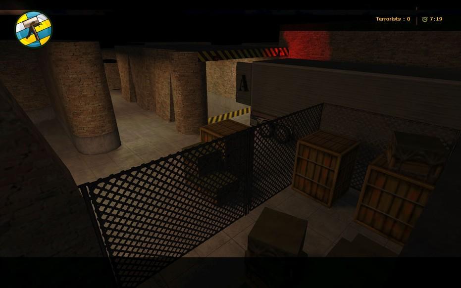 «de_lab» для CS 1.6
