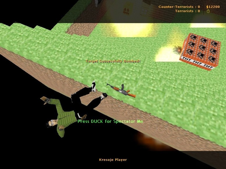 «de_minecraft_2012» для CS 1.6