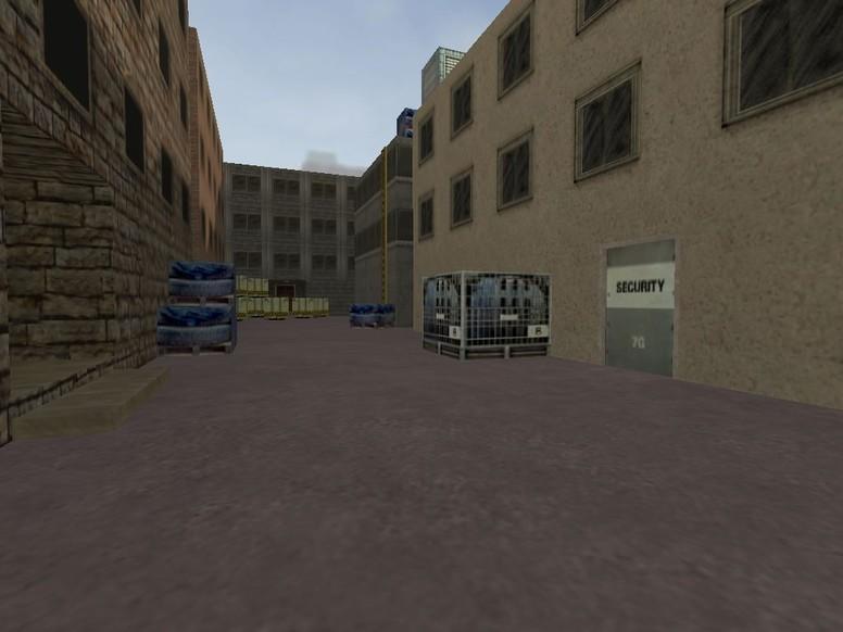 «de_minicity» для CS 1.6