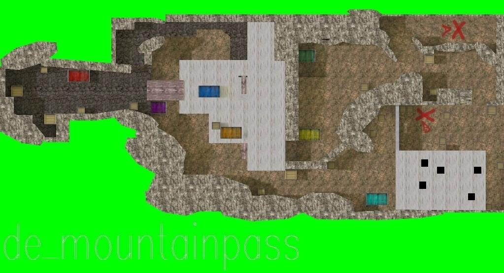 «de_mountainpass» для CS 1.6
