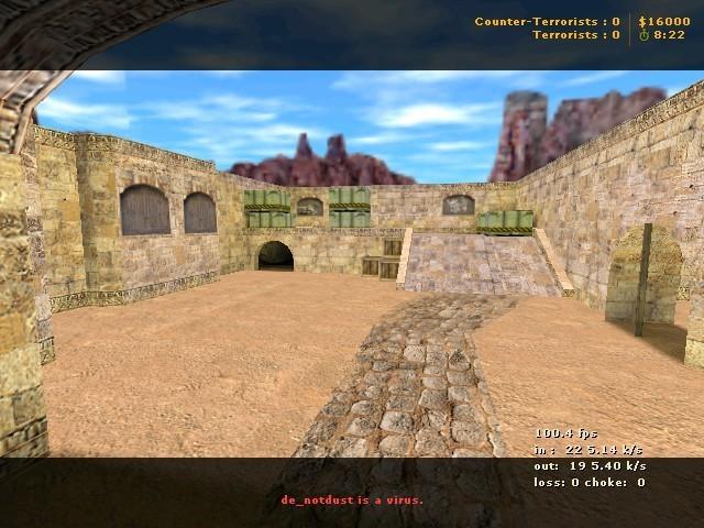 «de_notdust» для CS 1.6