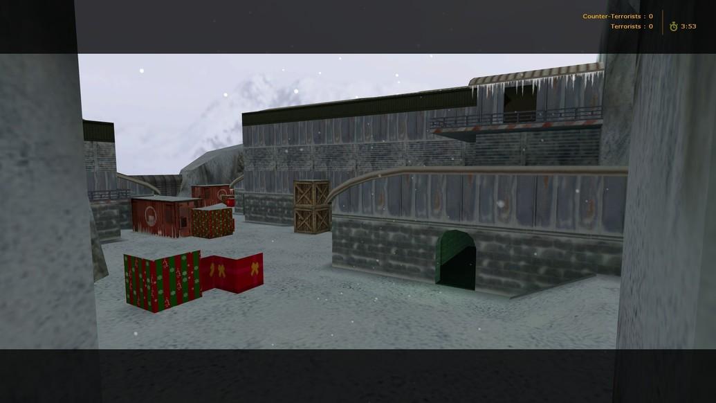 «de_nuke2x2_snow» для CS 1.6