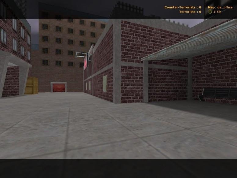 «de_office» для CS 1.6
