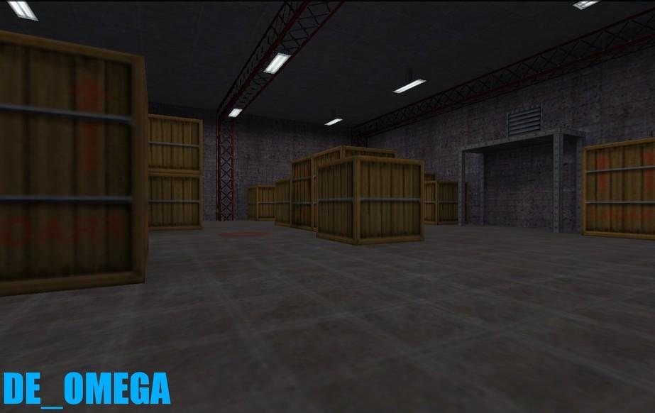 «de_omega» для CS 1.6
