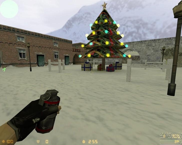 «de_outlands_christmas» для CS 1.6