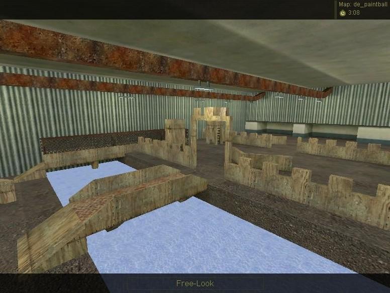 «de_paintball» для CS 1.6