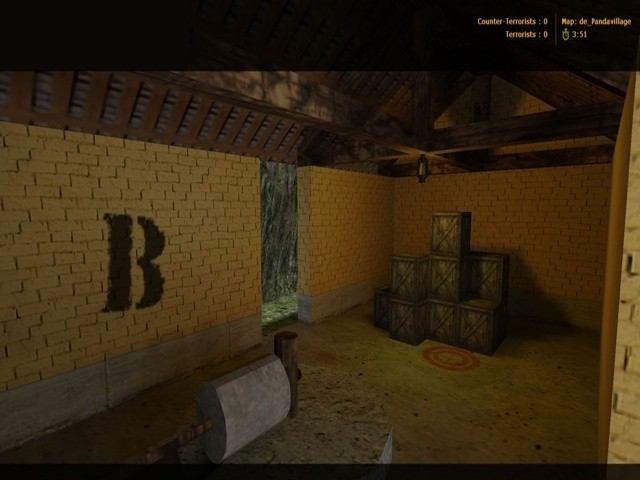 «de_pandavillage» для CS 1.6