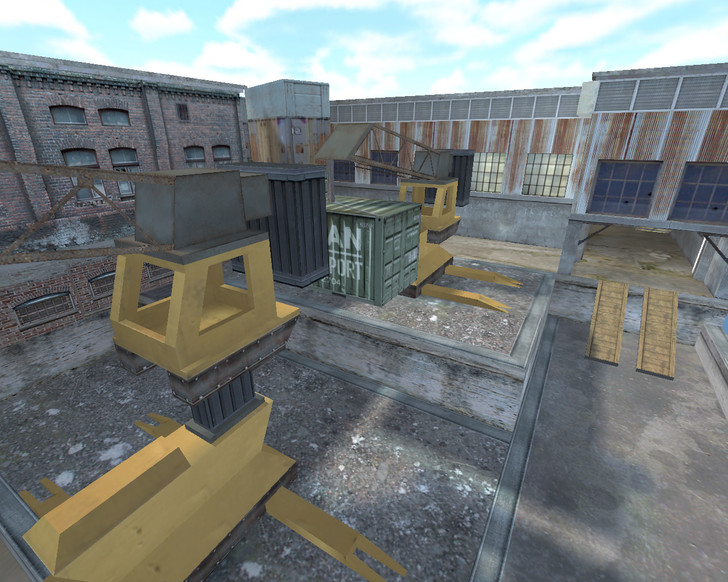 «de_portation» для CS 1.6