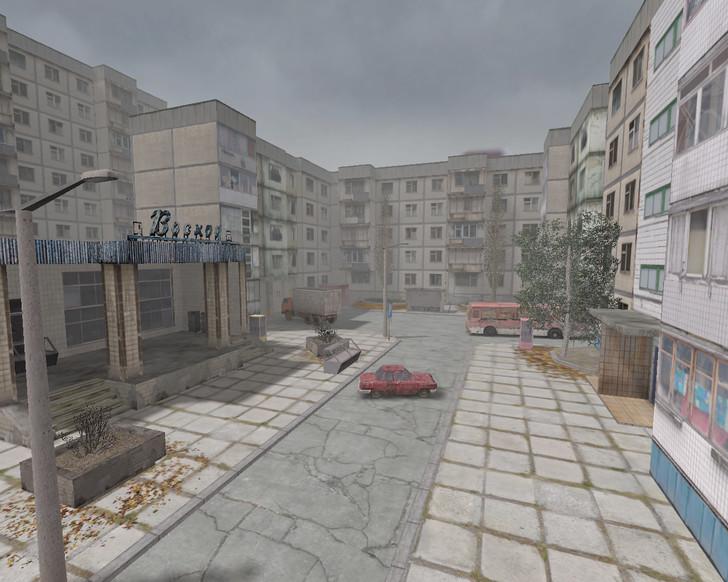 «de_pripyat» для CS 1.6