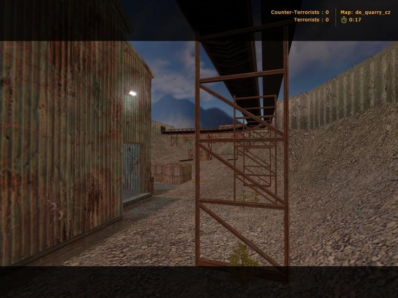 «de_quarry_cz» для CS 1.6
