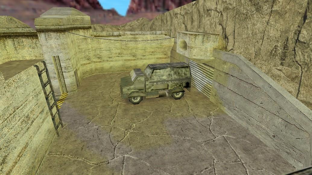 «de_raid2k6» для CS 1.6