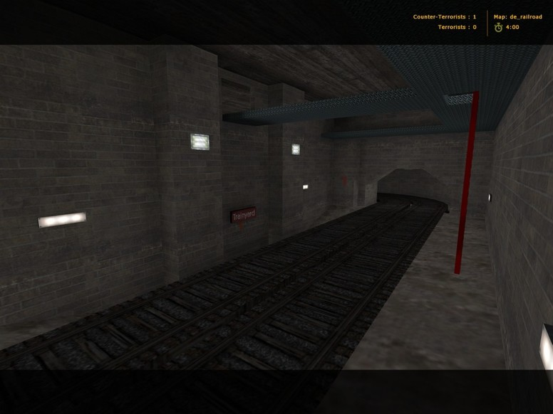 «de_railroad» для CS 1.6