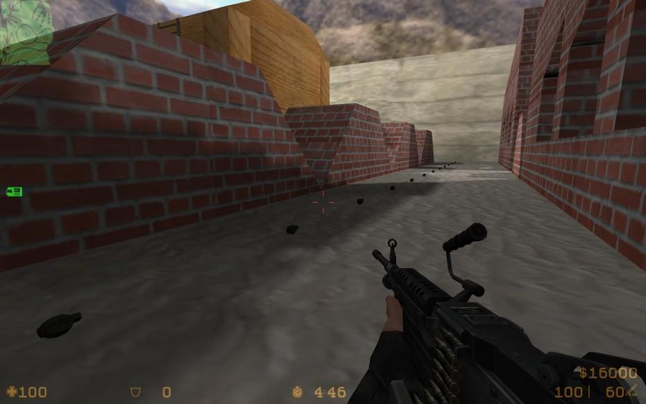 «de_rambo2012» для CS 1.6