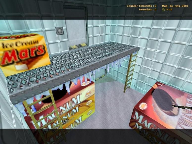 «de_rats_2001» для CS 1.6