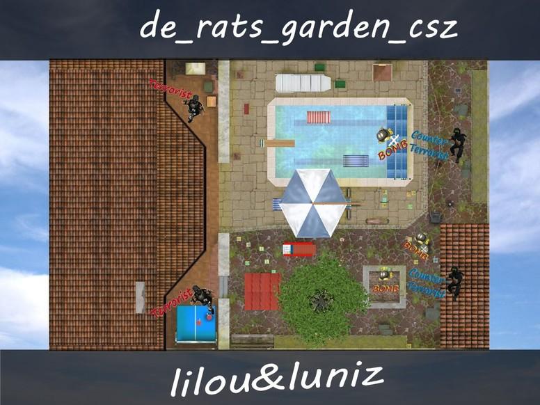 «de_rats_garden_csz» для CS 1.6