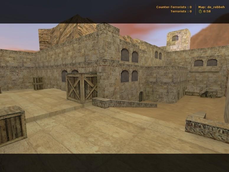 «de_rebbeh» для CS 1.6