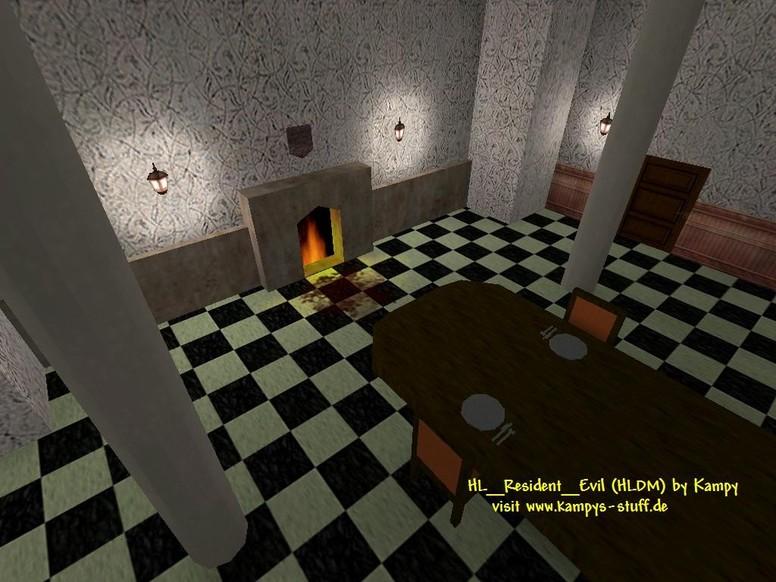 «de_resident_evil_v2» для CS 1.6