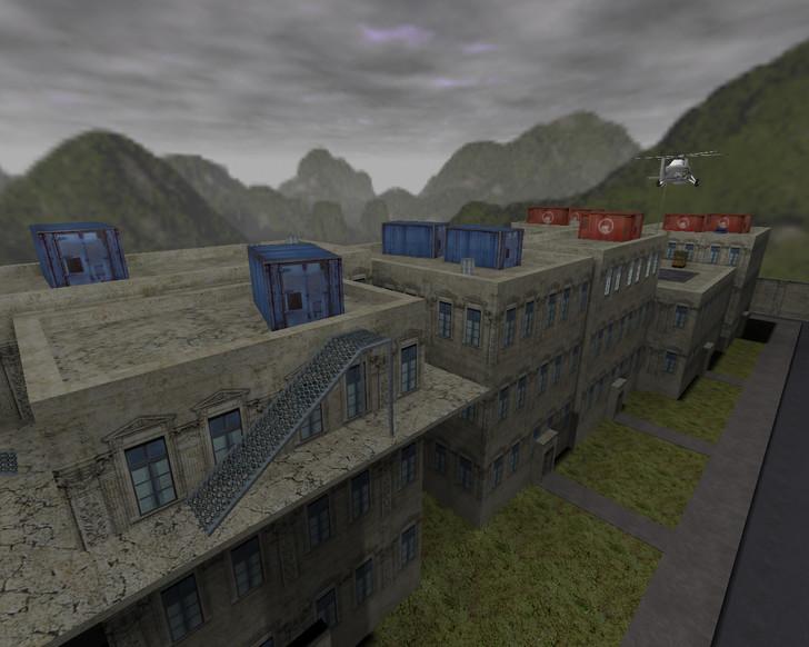 «de_roof_nf» для CS 1.6