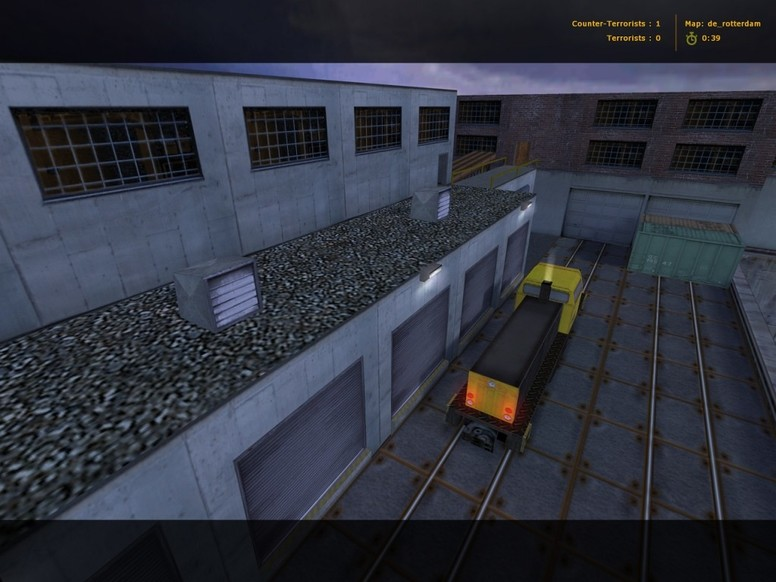 «de_rotterdam» для CS 1.6