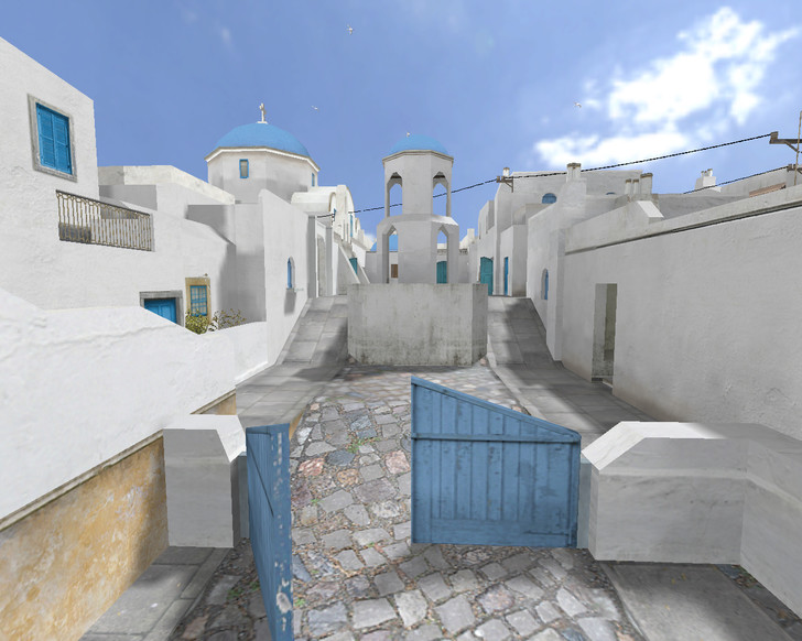 «de_santorini» для CS 1.6