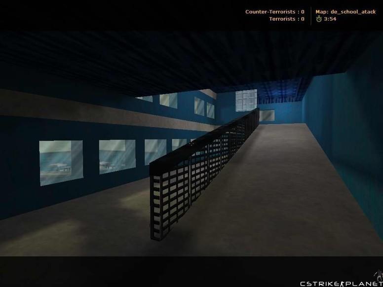 «de_school_atack» для CS 1.6
