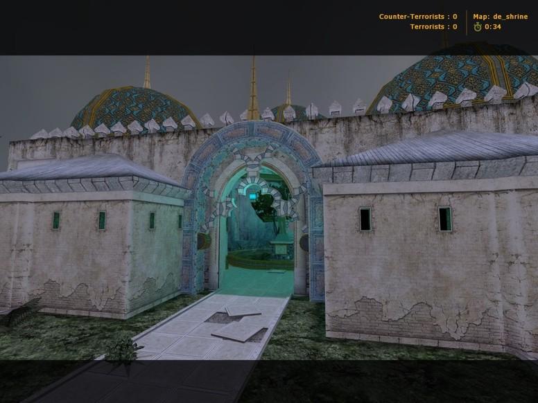 «de_shrine» для CS 1.6