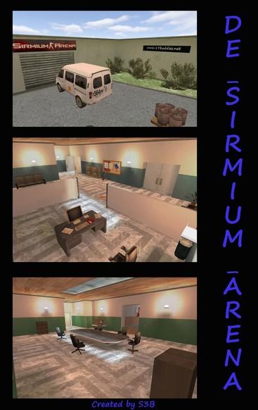 «de_sirmium_arena» для CS 1.6