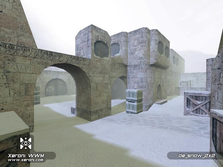 «de_snow_2x2» для CS 1.6