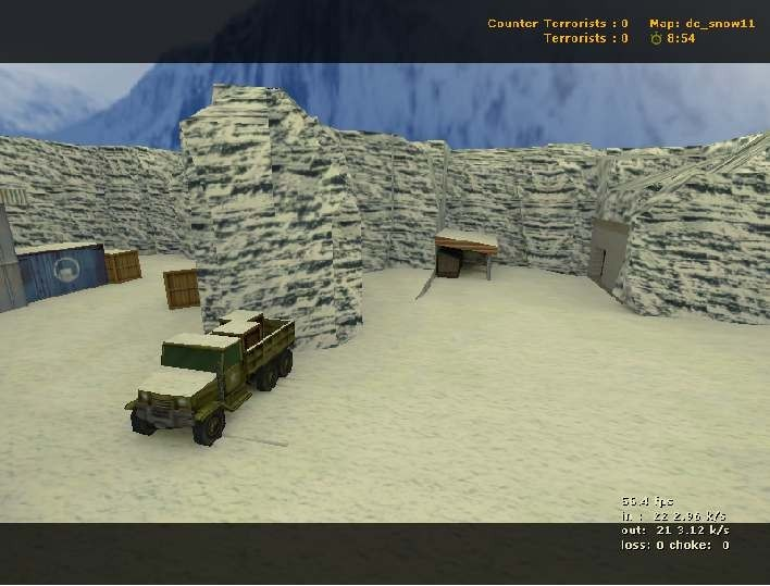 «de_snow» для CS 1.6