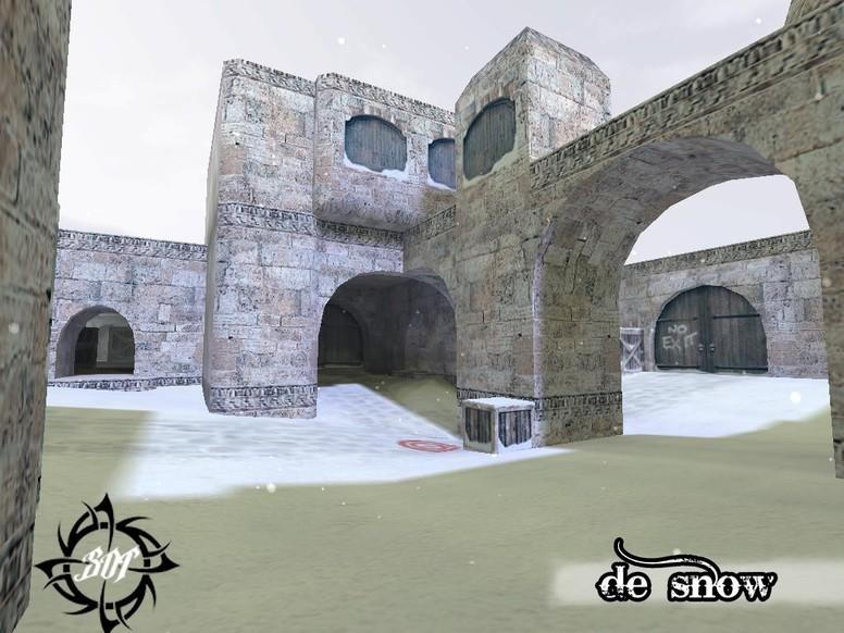 «de_snow_b2» для CS 1.6
