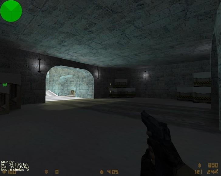 «de_snow_dust» для CS 1.6