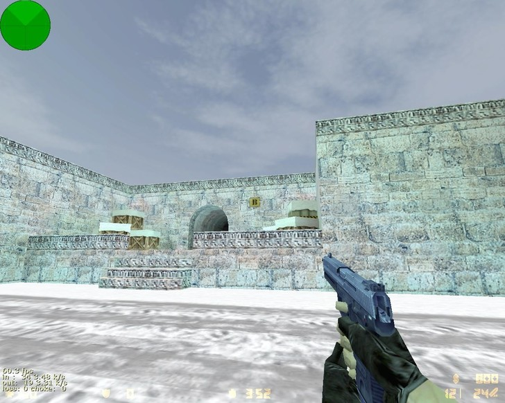 «de_snow_dust» для CS 1.6