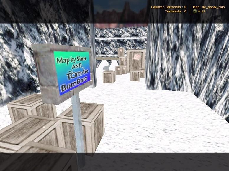 «de_snow_rain» для CS 1.6