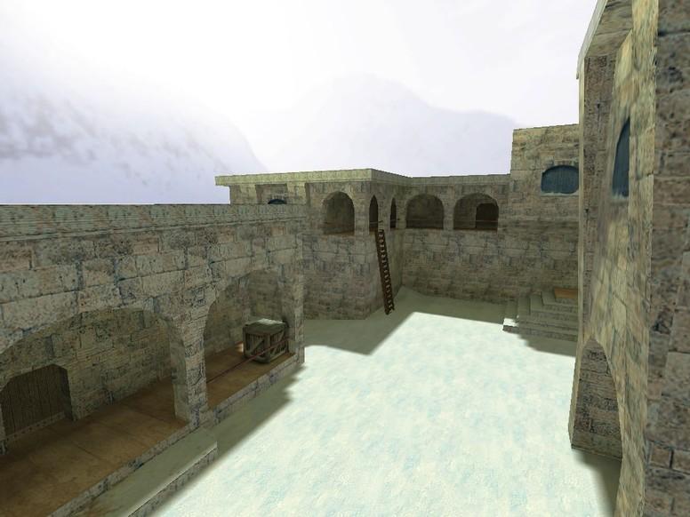 «de_snowball» для CS 1.6