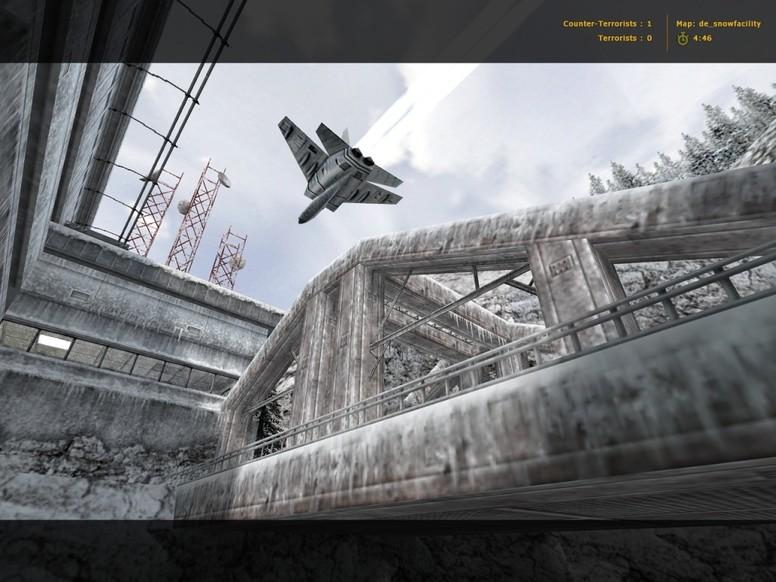 «de_snowfacility» для CS 1.6