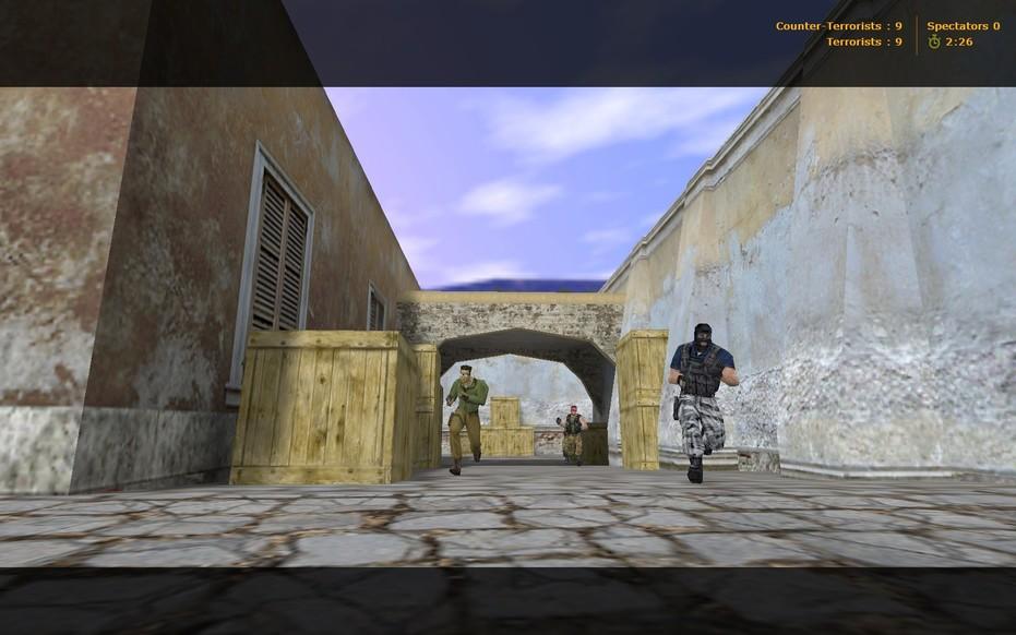 «de_spring» для CS 1.6
