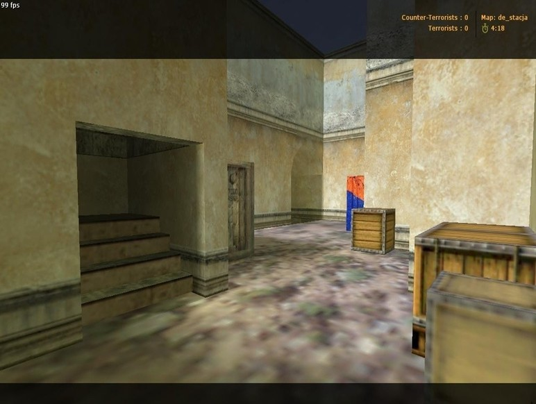 «de_stacja» для CS 1.6